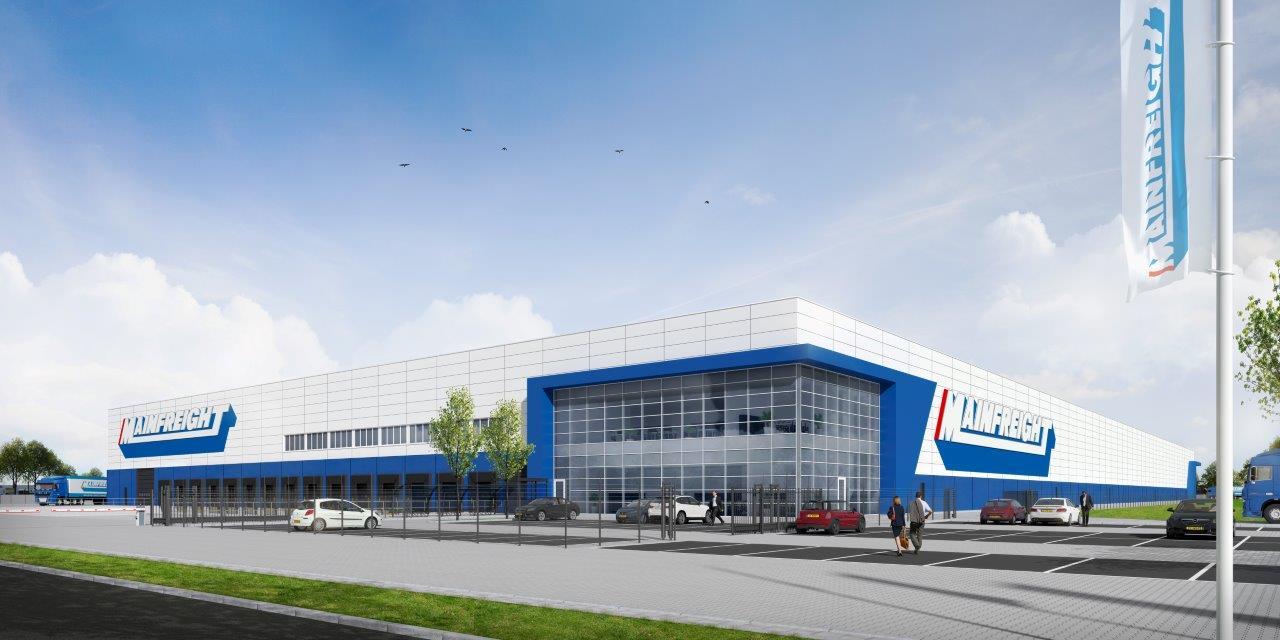 Mainfreight se extinde prin deschiderea unui nou depozit în Born Olanda