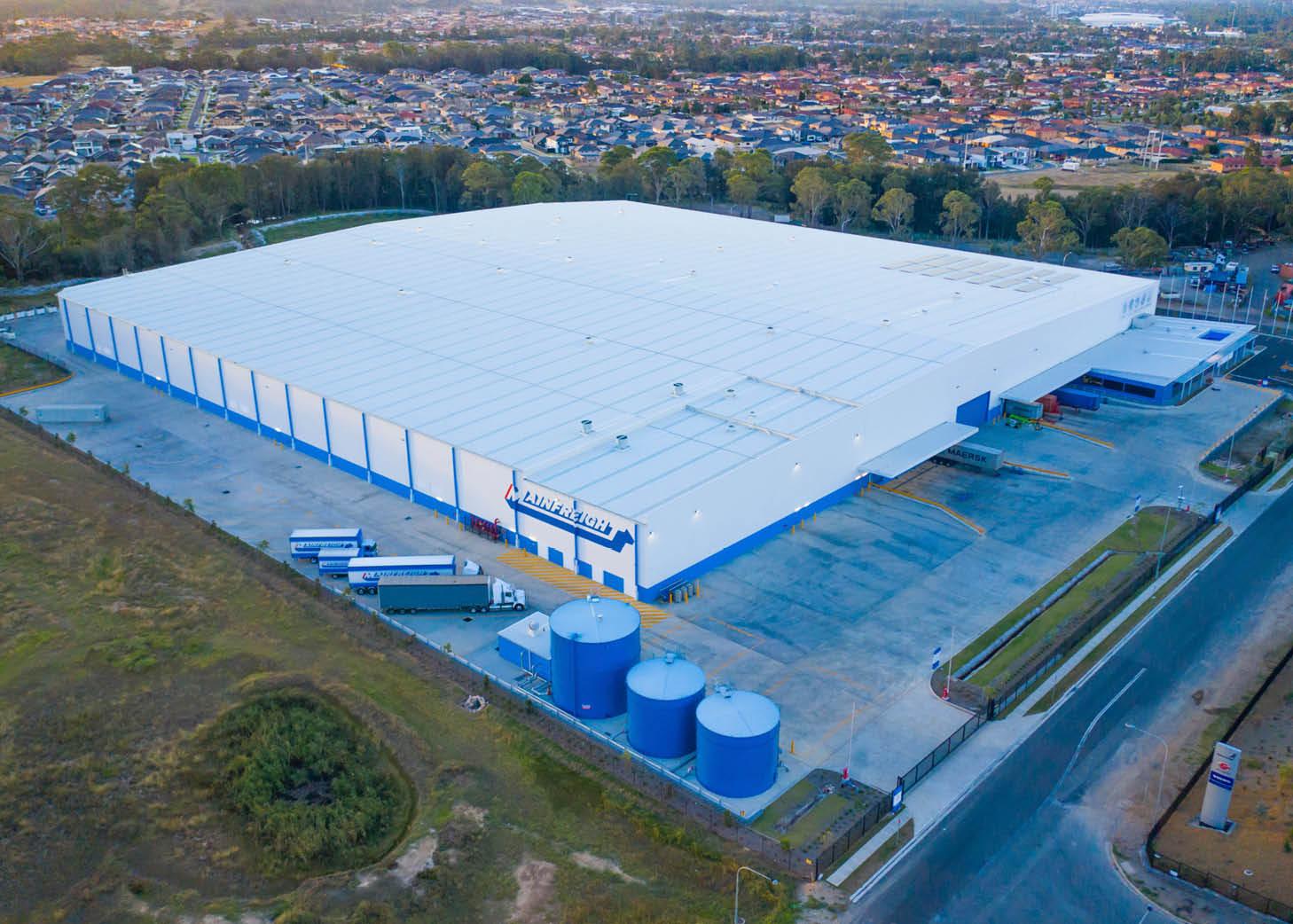 Sydney Mainfreight Warehousing - Kookaburra