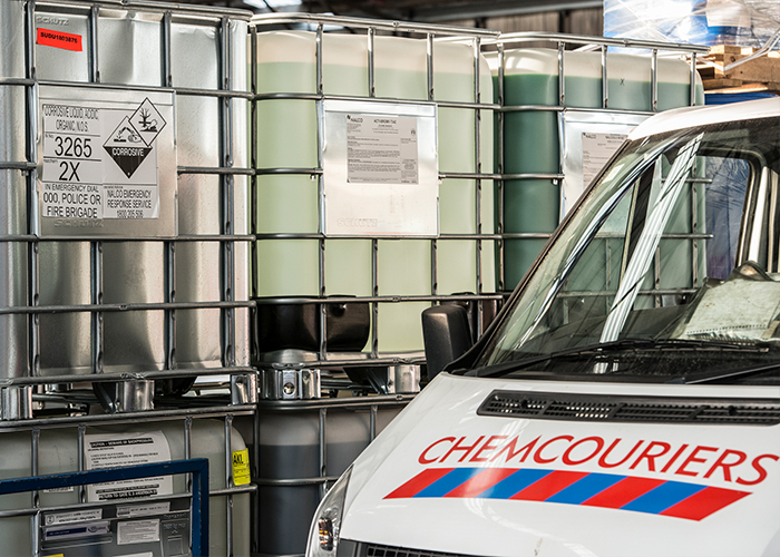 Christchurch Chemcouriers