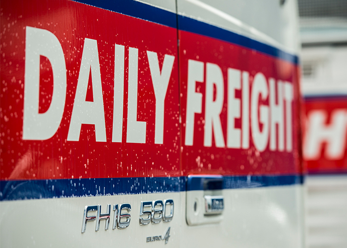 Christchurch Daily Freight