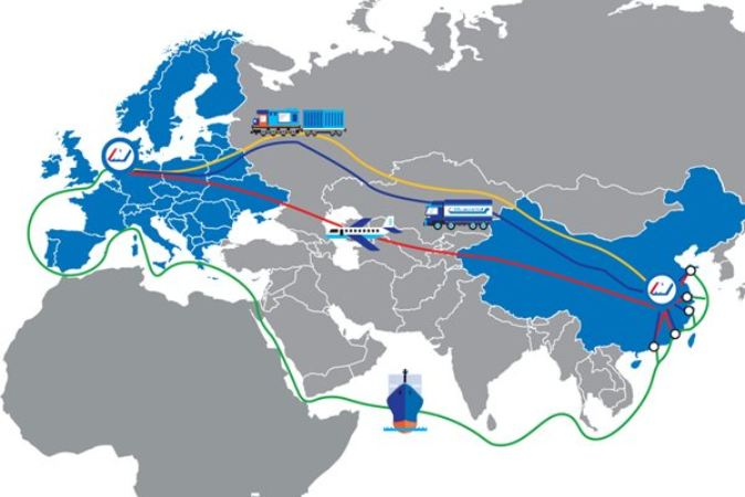 Asia to Europe Consolidations