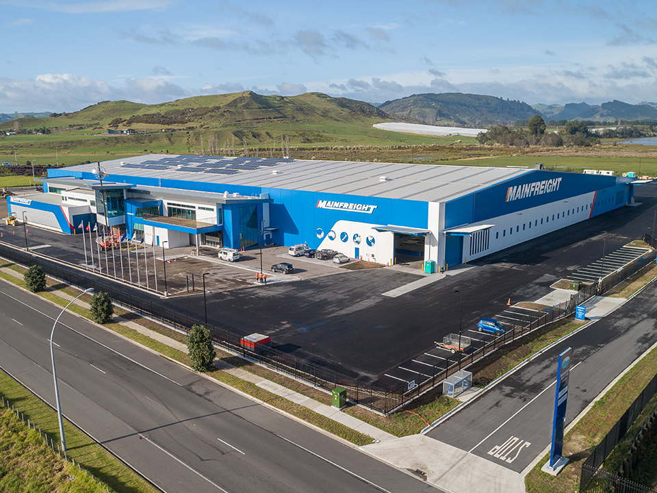 Our new Mainfreight Tauranga Branch is open and ready for business